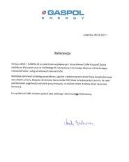 Referencje Gaspol