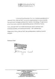 Referencje Rossman