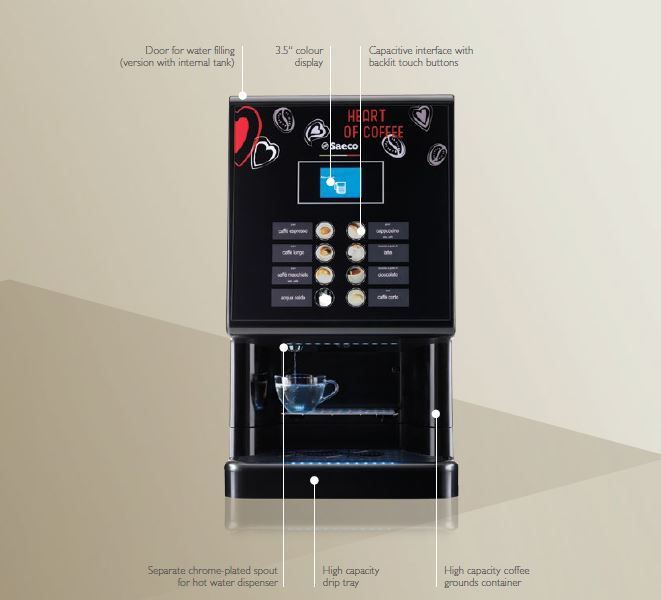 nowoczesny automatyczny ekspres phedra evo espresso. Black Bedroom Furniture Sets. Home Design Ideas