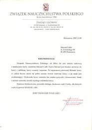 Związek Nauczycielstwa Polskiego.