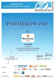 Kuchnia Polska Nowoczesna.
